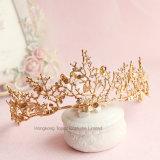 Parte superiore imperiale dei diademi nuziali barrocco per le donne delle fasce che Wedding gli accessori dei capelli