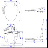 De intelligente Sanitaire Waren van de Zetel van het Toilet