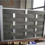 La alta calidad al aire libre garantizó la armadura de aluminio WPC que cercaba para el jardín