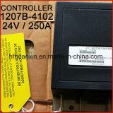 Los equipos de manipulación Curtis cepillado DC 24V 250un controlador de técnicos del motor de 1207b-4102