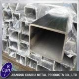 Satin et Polonais carré de surface rectangulaire de tubes soudés en acier inoxydable