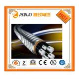 Flama - fio de alumínio isolado PVC do retardador