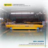 As estradas de ferro de condução pôr o veículo de transferência das cargas pesadas do transportador