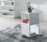 白い収納キャビネットの装飾の棚のキャビネット(XWJ-001)