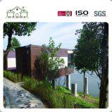 Mobiele Huis van het Strand van de Container 20/40FT van de Structuur van het Staal van de Lage Kosten van de Decoratie van de luxe het Prefab