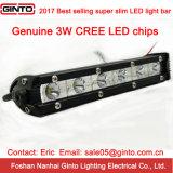 Hot Sale Super Slim 18W 7.5'' CREE LED Light Bar