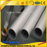 Tube ovale en aluminium de tube en aluminium de tube d'alliage de 6000 séries