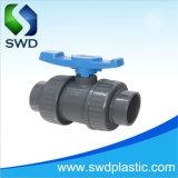 Asa azul de PVC de 20mm verdadera unión válvula de bola