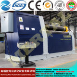Rullo della lamina di metallo di CNC W12/macchina piegatubi del rullo piatto d'acciaio