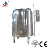 Aço inoxidável personalizados de alta qualidade líquido armazenamento polido cisterna amovível