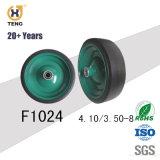 4.10/3.50-4 Gomma solida della rotella della carriola dell'unità di elaborazione