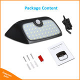 Séparables 48 LED du panneau solaire du capteur de mouvement IRP lampe étanche pour jardin Outdoor & Indoor éclairage nocturne d'urgence