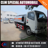 LHD를 가진 8cbm 유조선 트럭, 연료 납품 트럭 및 선택을%s Rhd