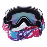 De dames skien Beschermende brillen met de Nieuwe ModelBeschermende brillen van de Anti van de Kras van de Douane van de Ski van de Sneeuw Glazen van de Beschermende brillen