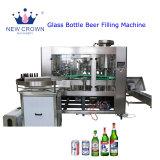 Botella de vidrio automática Máquina de embalaje de llenado de cerveza