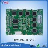 Caractères blancs FSTN d'écran bleu du module Stn320*240 d'affichage à cristaux liquides de Sym320X240 C1V15