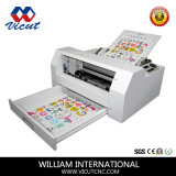 Máquina de corte da etiqueta autocolante tornando adesivo de vinil de corte de papel