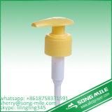 Bomba clássica branca da loção para frascos plásticos