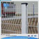 Cerca plegable caliente del jardín del panel de acoplamiento de alambre de las ventas 3D