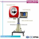 El analizador portátil de piel para centros de belleza facial de uso de las pruebas cutáneas