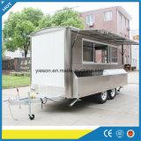 Carro de acoplado móvil del alimento de Yieson