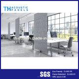 Лучшее качество полиэфирные волокна декоративная акустическая панель для рабочей станции