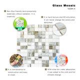Mattonelle del bordo del mosaico di vetro macchiato del pavimento della stanza da bagno per la vendita calda