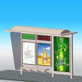 Abris extérieurs d'arrêt de bus de qualité à vendre avec le banc