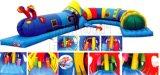 Reizende Endlosschrauben-aufblasbares Hindernis für Kinder, europäischer heißer Verkaufs-aufblasbares Hindernis