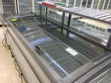 냉각 섬 냉장고 /Refrigerator 의 슈퍼마켓 섬 전시 섬 냉장고를 지시하십시오