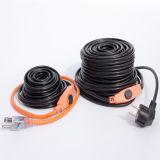 PVC暖房のコードの中国人の工場が付いている16W/Mの配水管の暖房ケーブル