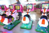As crianças a cavalo crianças eléctrica máquina de giro de jogos 3D Horse