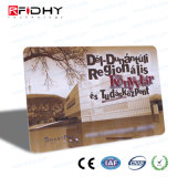 L'impression CMJN RFID carte papier pour le paiement de billets