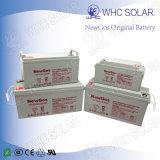 Rechargeable à cycle profond 12V 65Ah batterie solaire