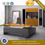 Bureau en bois de couleur moderne bon marché des prix de meubles de bureau (UL-MFC473)