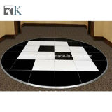 Événement noir blanc intense Polished parfait Dance Floor de Rk