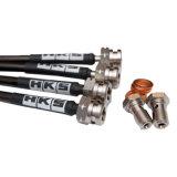 Tubo flessibile liscio automatico durevole del freno del filo di acciaio dell'automobile di alta qualità PTFE