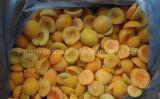 Gefrorene Aprikose oder gefrorene Frucht