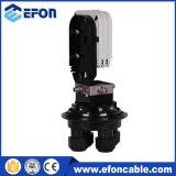 Tipo domo IP68 48 núcleos cierres de empalme de fibra óptica