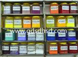 CaCO3-Einfüllstutzen-grüne Farbe Masterbatch für pp.-Einspritzung