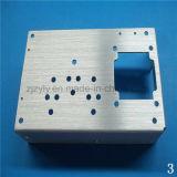 솔질된 양극 처리 Surfacement를 가진 고품질 CNC 기계로 가공 알루미늄 격판덮개