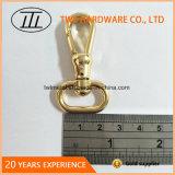 La lumière de l'or chien Crochet mousqueton avec joint torique Hjw1676