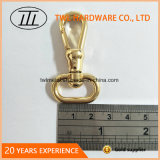 Heller Goldhundehaken-Verschluss-Haken mit O-Ring Hjw1676