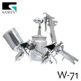 Sawey 상표 W-71 압력 공급 분무기