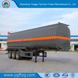 가솔린 또는 연료 수송을%s 3/4대의 반 차축 유조선 탱크 트럭 트레일러