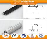 Perfil de aluminio para el pelo que viste los dispositivos del aluminio de Weiye