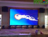 Mur visuel polychrome de haute résolution de DEL pour la publicité d'intérieur (lancement 2.9 millimètres)