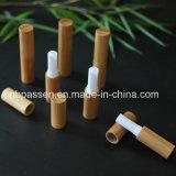 Container van de Lip van de Buis van de Lippenstift van het bamboe de Lege
