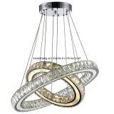 Luz de suspensão de cristal moderna do pendente para a decoração