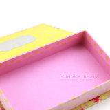 ハンドメイドのピンクの文房具のギフト用の箱の#Stationerybox